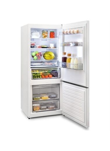 Vestel Vestel No-Frost Kombi Buzdolabı NFK48001 Renkli